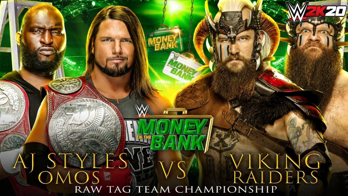Tag Team Championships are on the line