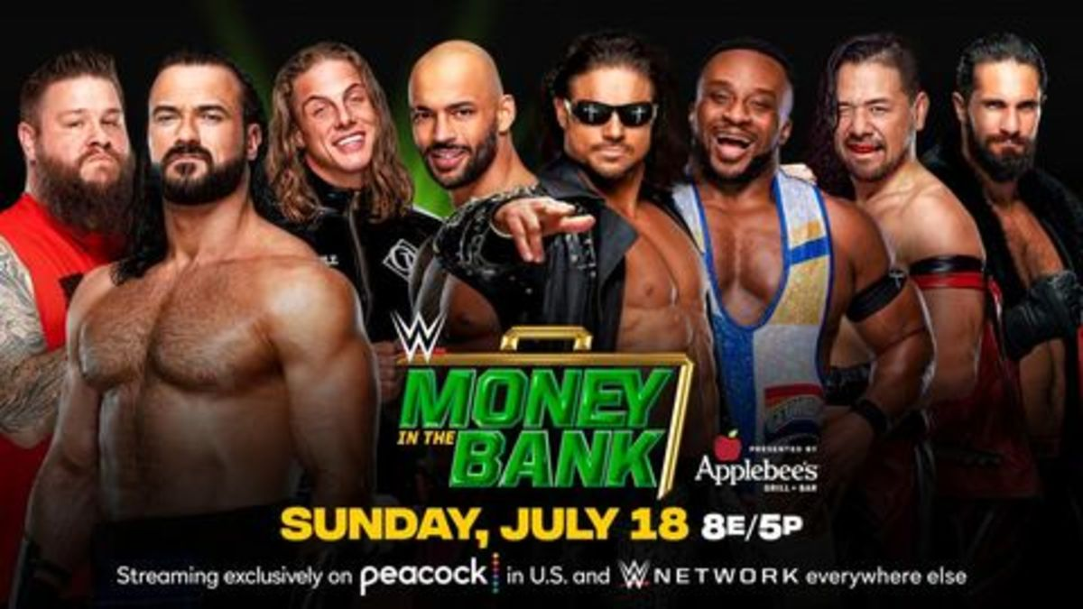 The Men's Money in the Bank Ladder Match