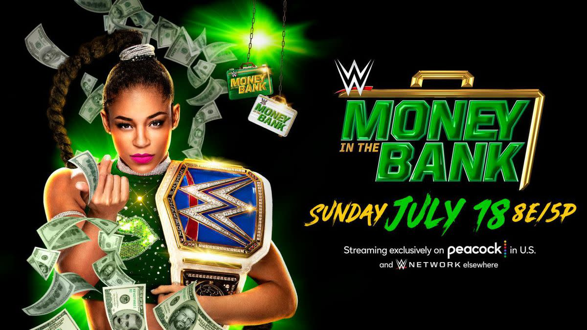 The promotional poster for the PPV this year, with the champion, Bianca Bel-Air on the cover.