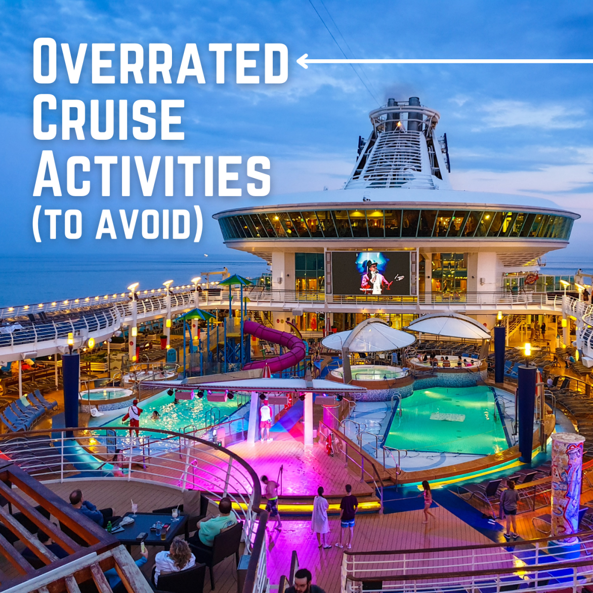 Which cruise activities should you avoid to make your budget stretch further?