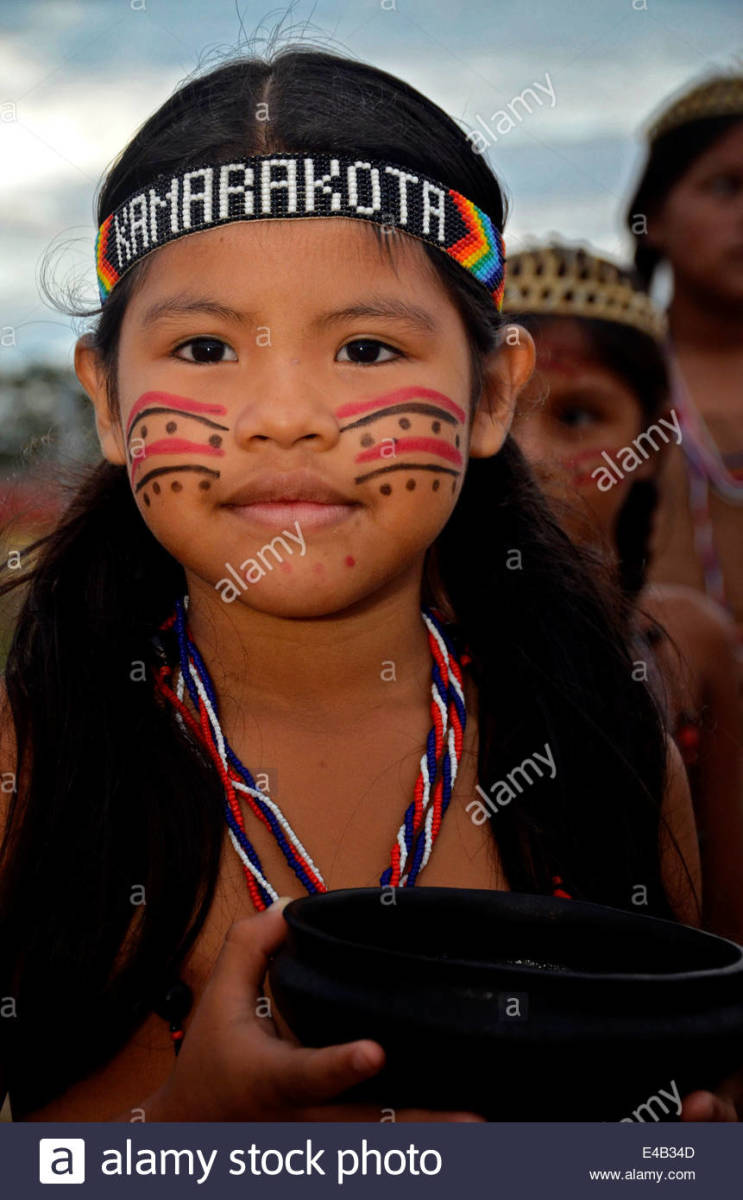 Young Pemon Native