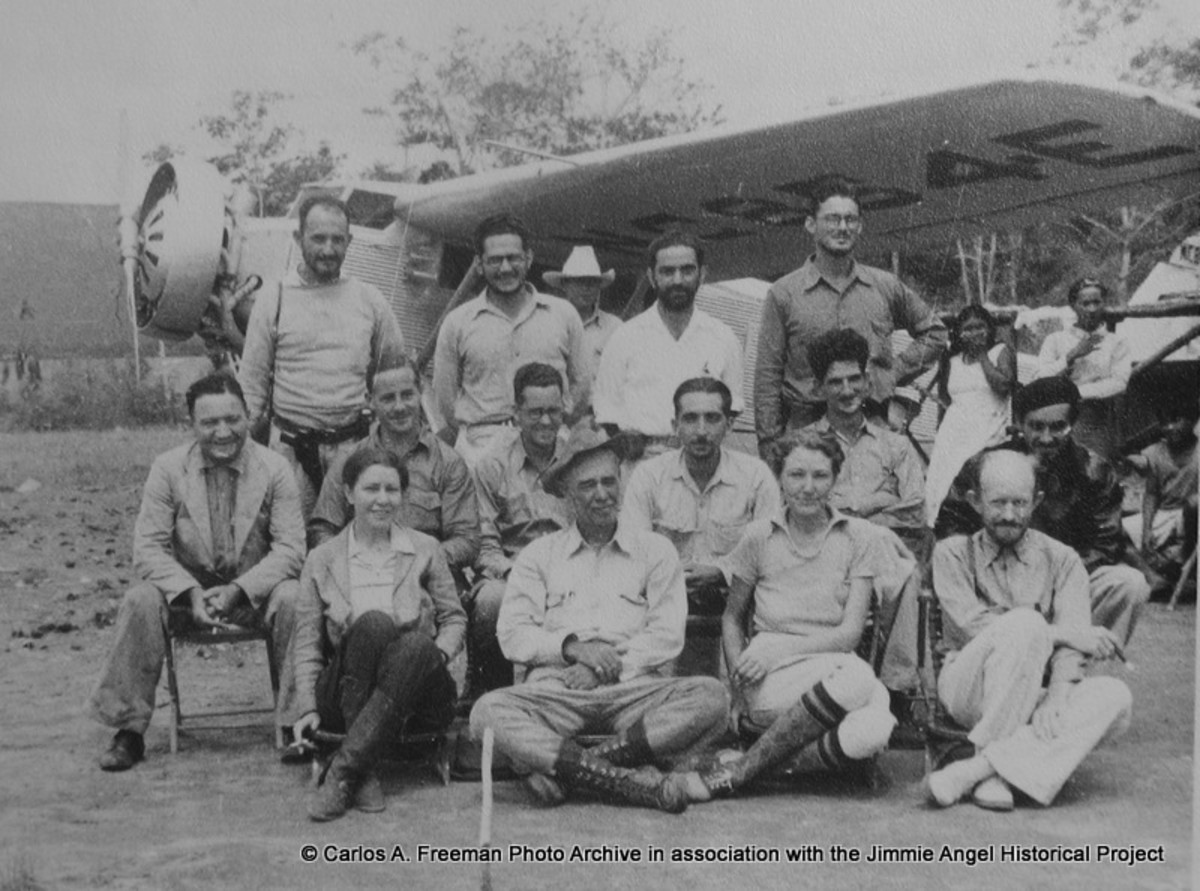 1939 Expedition to Angel Falls