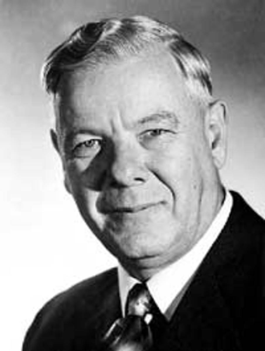 "Official portrait of Verwoerd: ""In his portraits he appears as the soul of benvolence"" (Alan Paton) Image via Wikipedia"