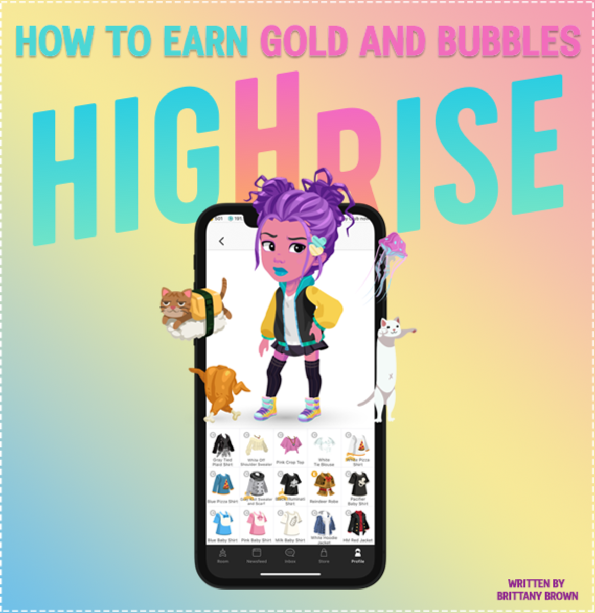 Tips and tricks to earn Gold and Bubbles in Highrise!