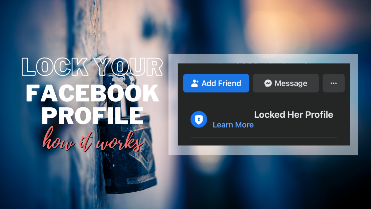 """The Facebook """"profile lock"""" feature not only looks cool, but it also helps secure your profile from nosy strangers."""