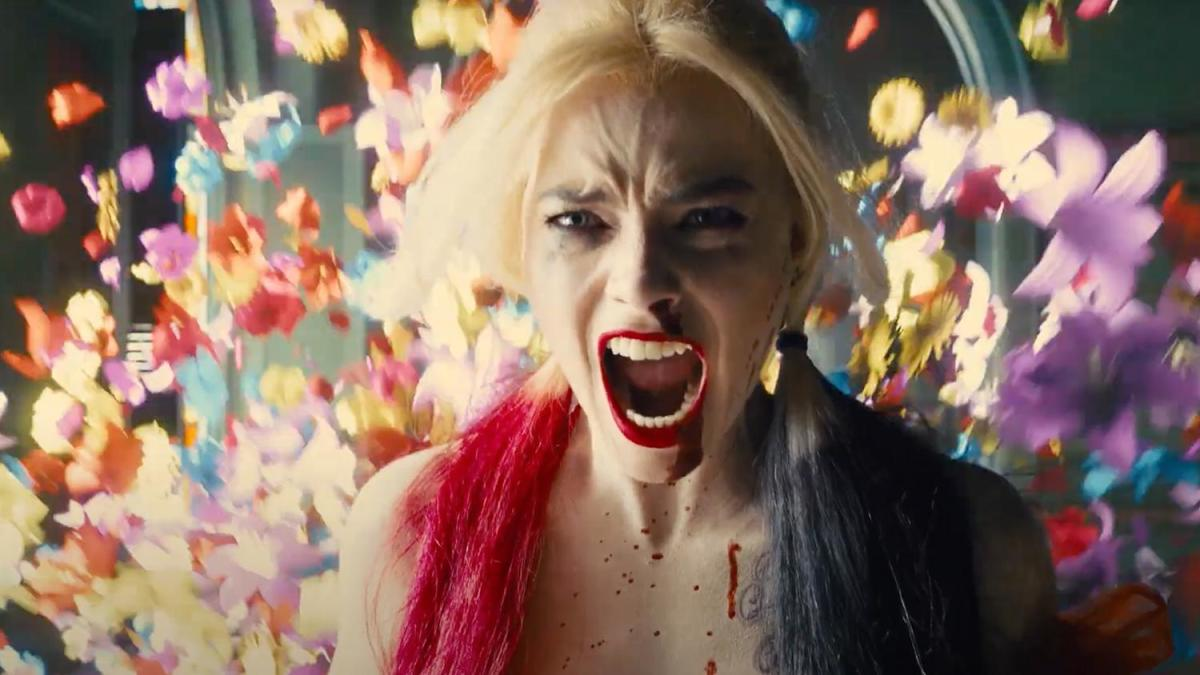 Margot Robbie as Harley Quinn in her 4th time in the role.