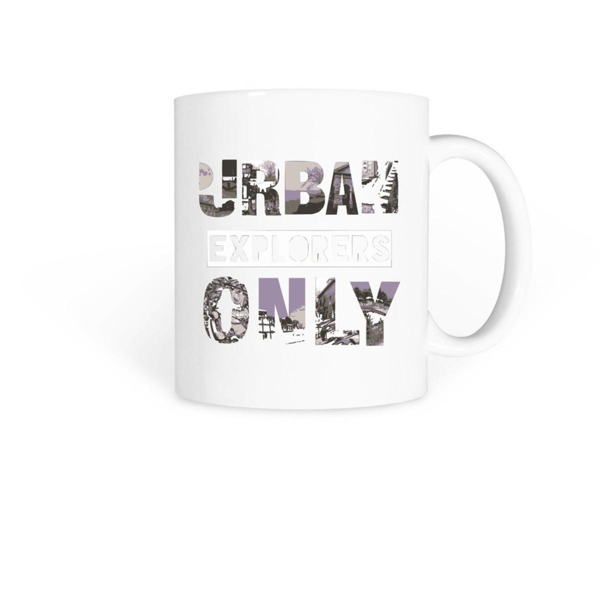 Urban Explorers Only Mug