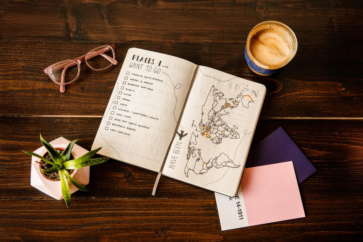 Creating a bucket list journal together can inspire you and help you look forward to your future.