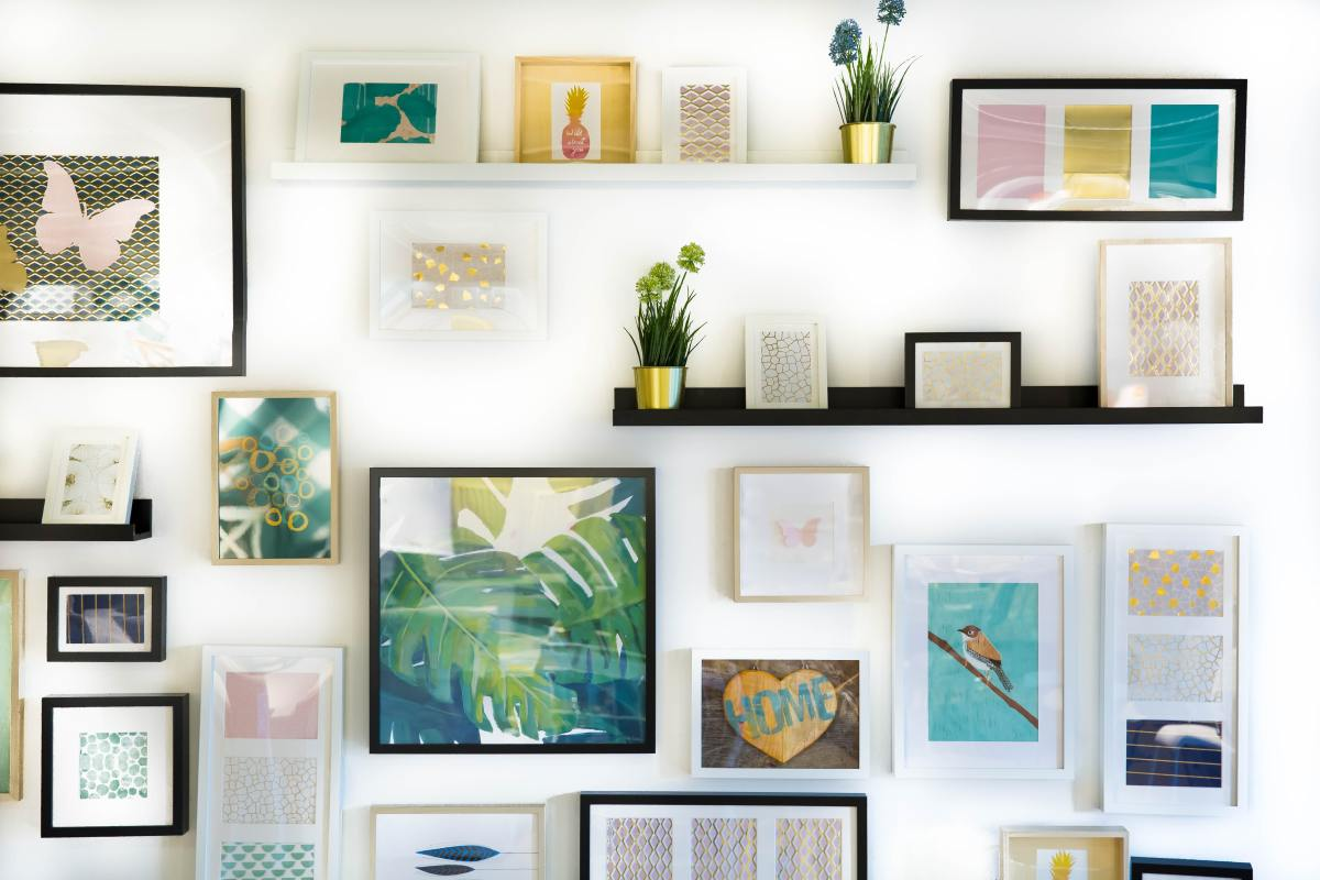 Art lovers will appreciate a framed print, photo, or painting.