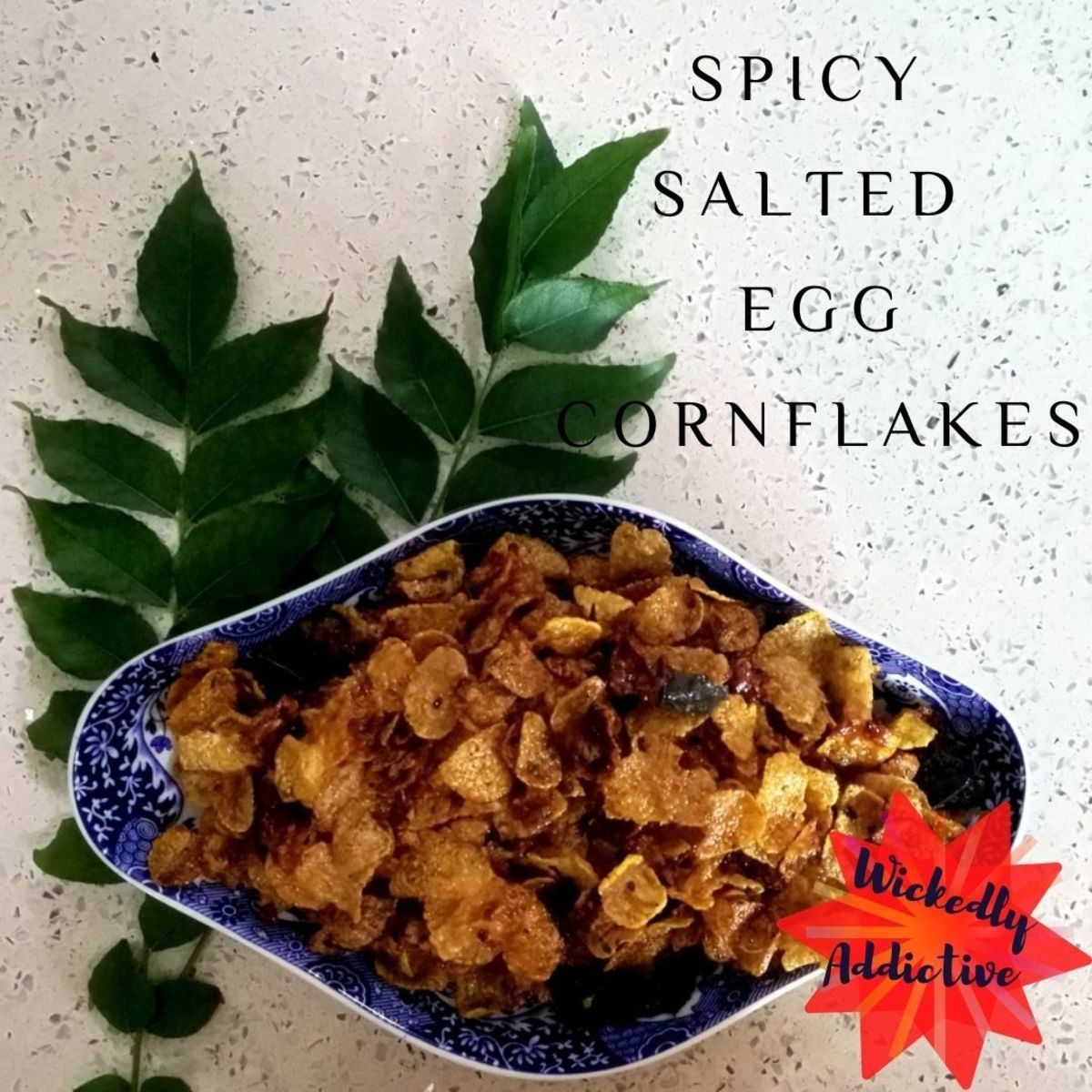 Salted Egg Recipe: Spicy Salted Egg Cornflakes