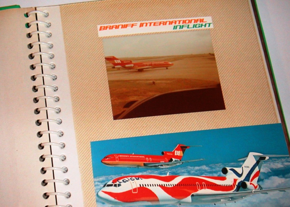 My Scrapbook for Braniff International