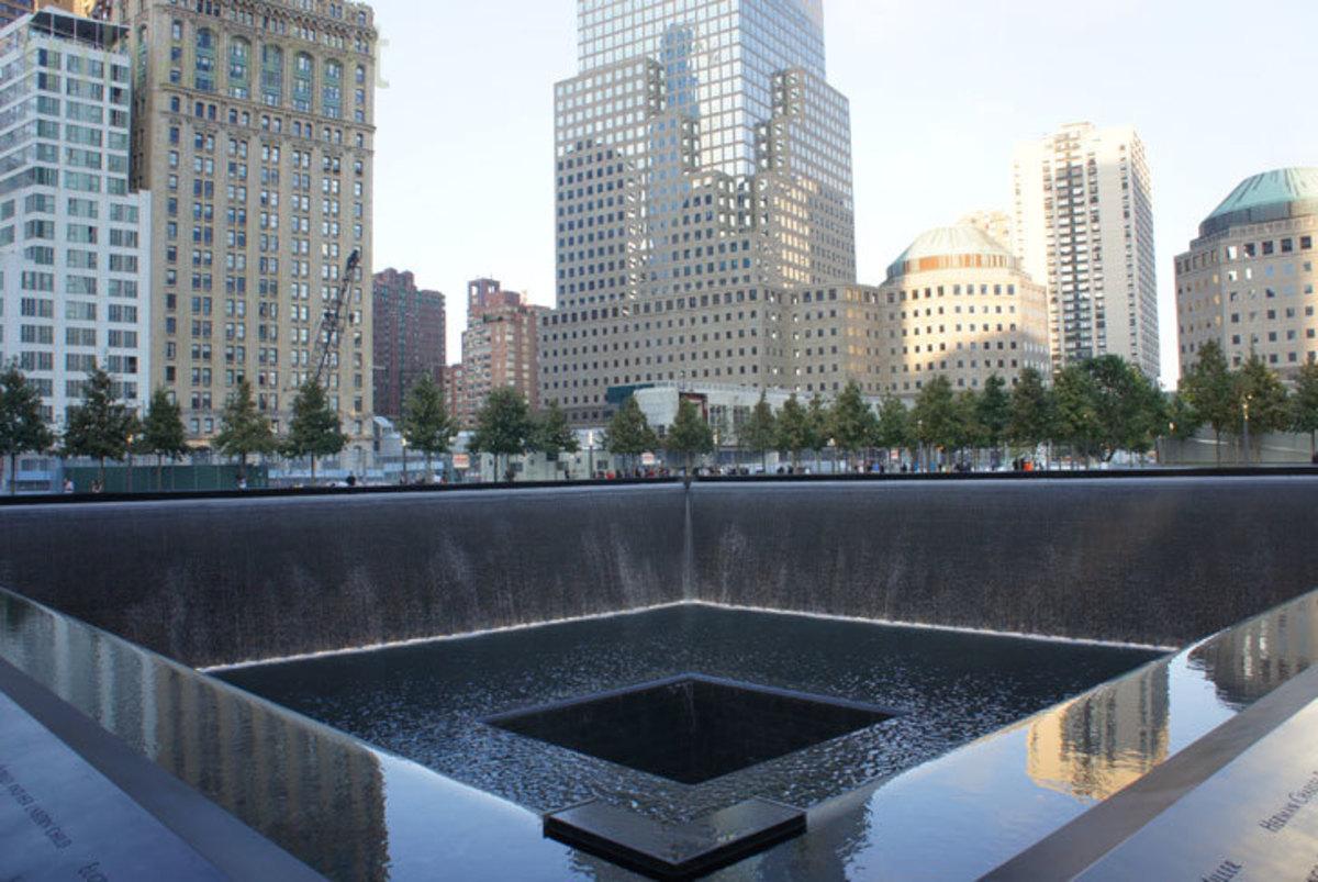 9-11 Memorial WTC Footprint