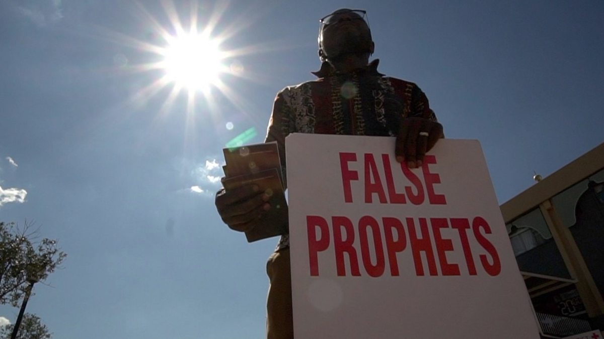 BE WARE OF FALSE PROPHETS