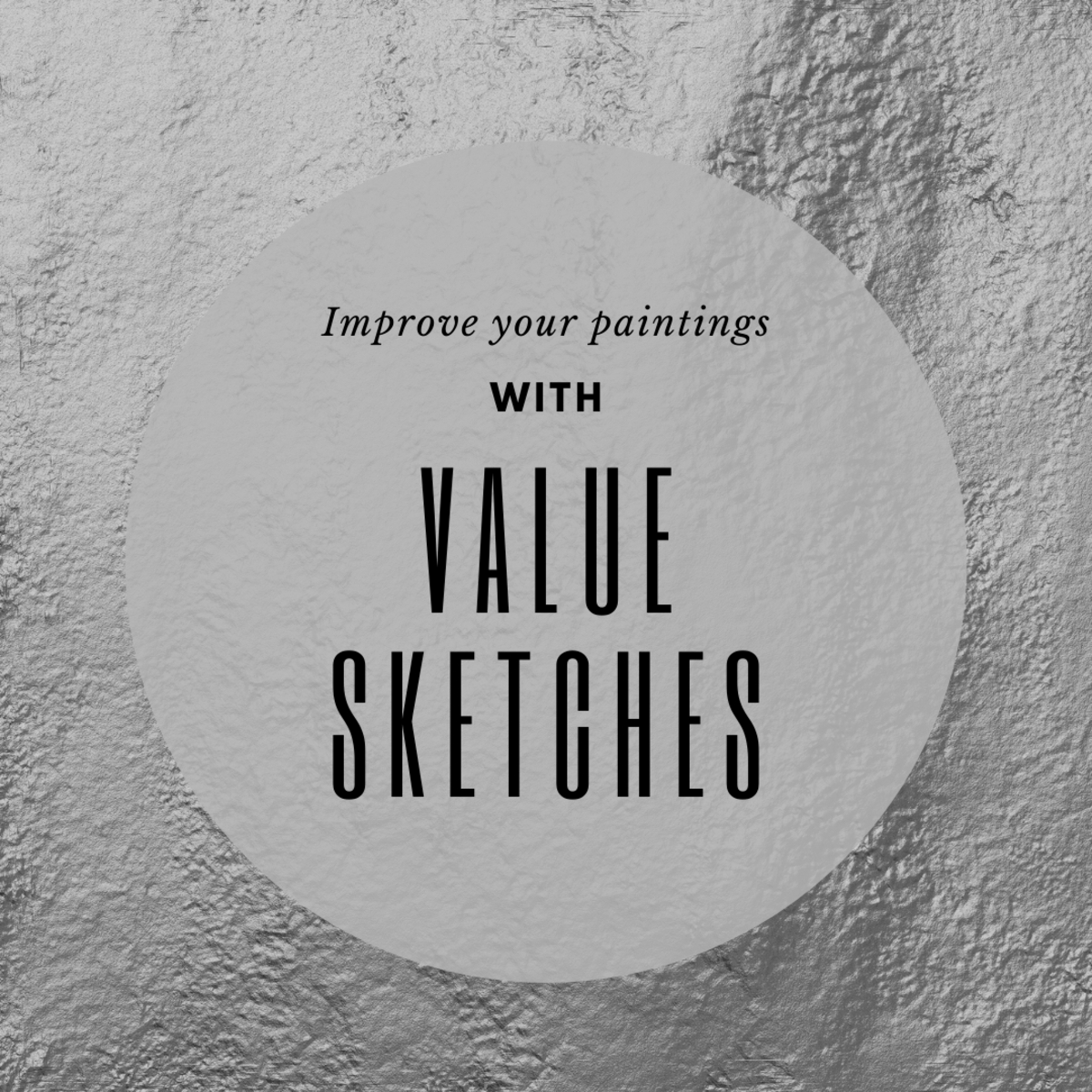What is a value sketch, and why is it important?
