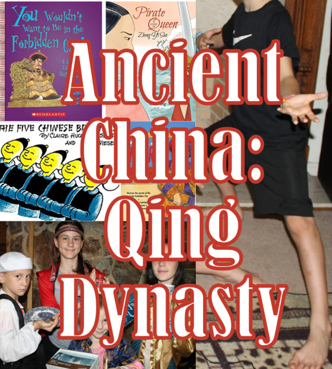 Hands on, activities based lesson on the Qing Dynasty and Ancient China