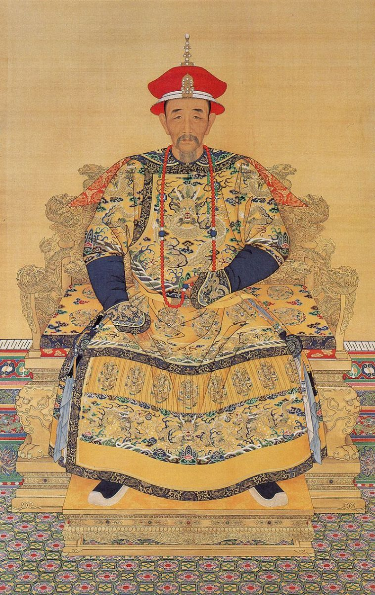 The Kangxi Emperor (r. 1662–1722)