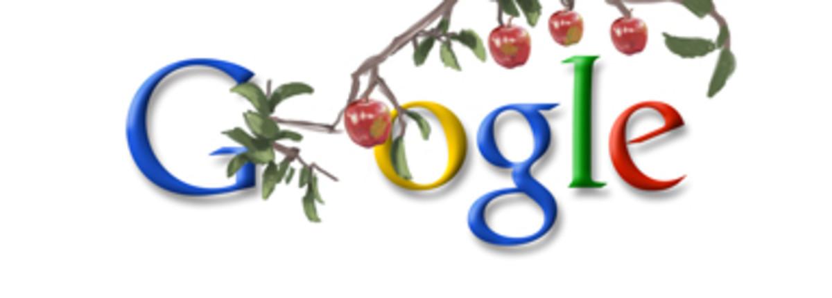Google doodle celebrating Jan 04, 2010     Sir Isaac Newton's Birthday [Click the doodle] - (Global)