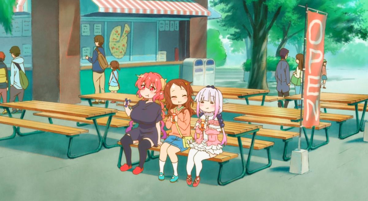 How Kobayashi-san Chi no Maid Dragon Gives A Sense of Coziness And Relaxation