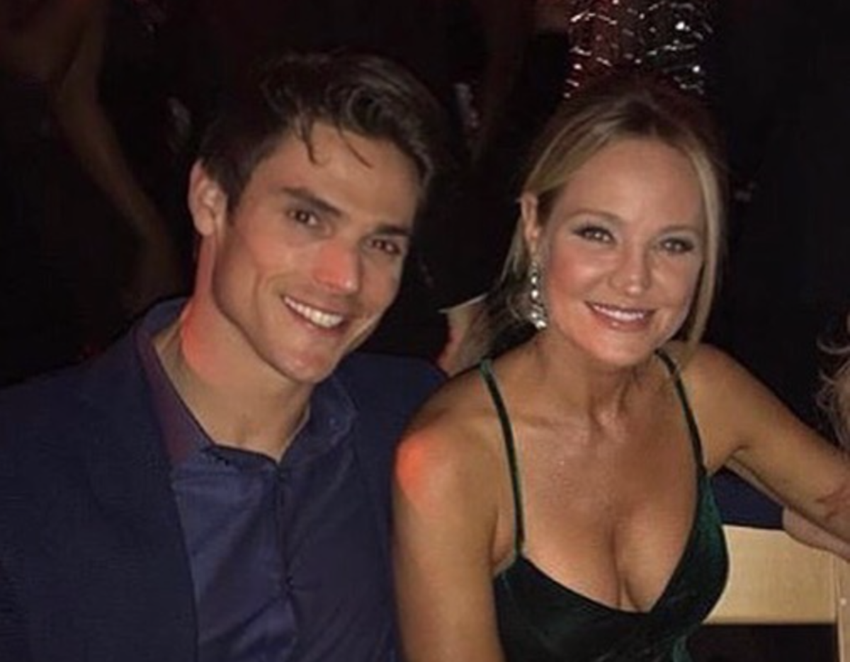 Y&R fans love Grossman and Case as a real couple.
