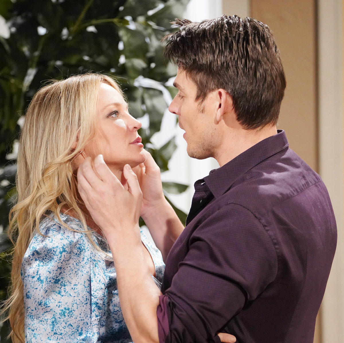 Mark Grossman and Sharon Case on and off Screen