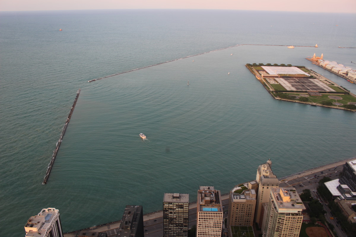 The Chicago Harbor.