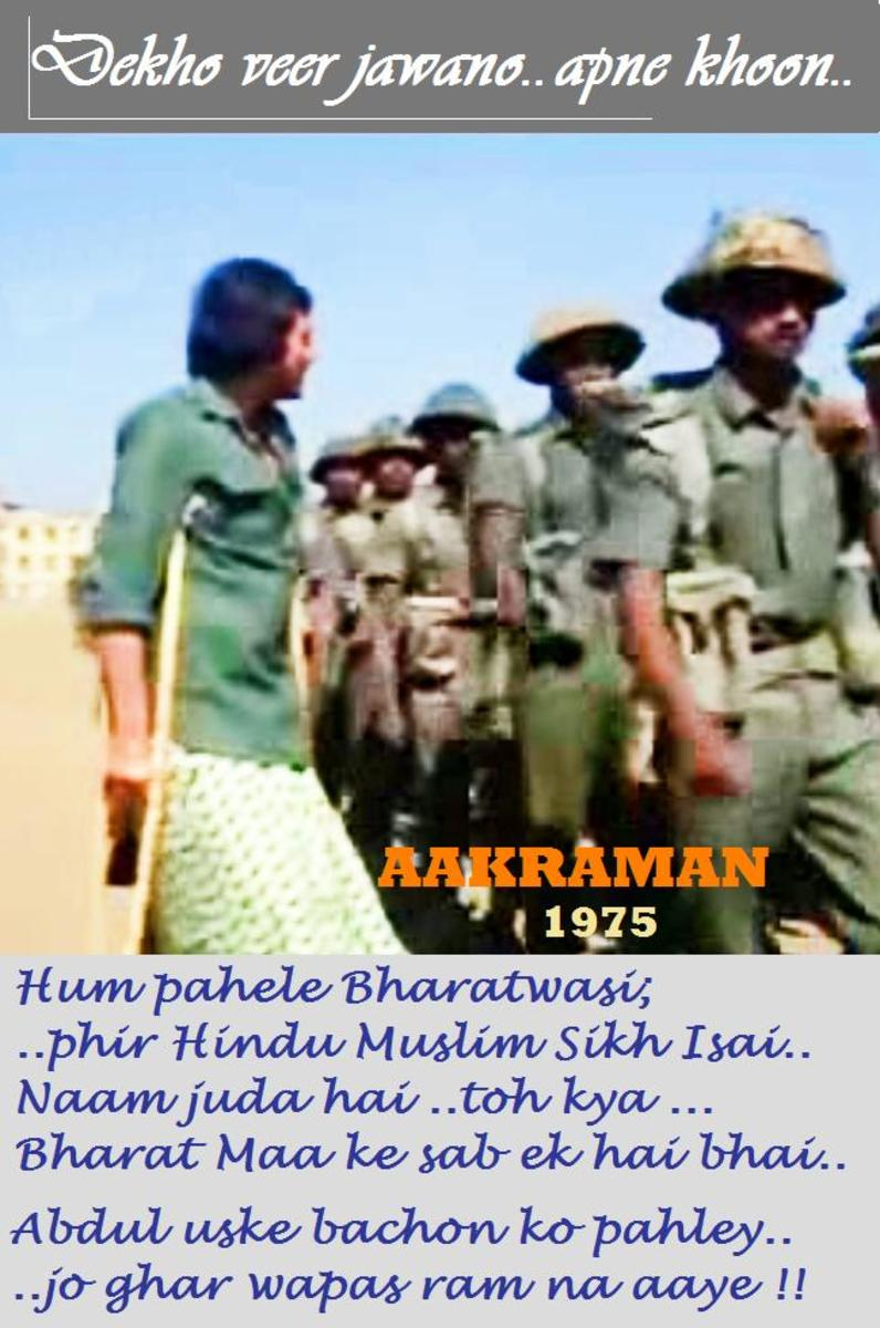 A melodious song for the brave soldiers of the country
