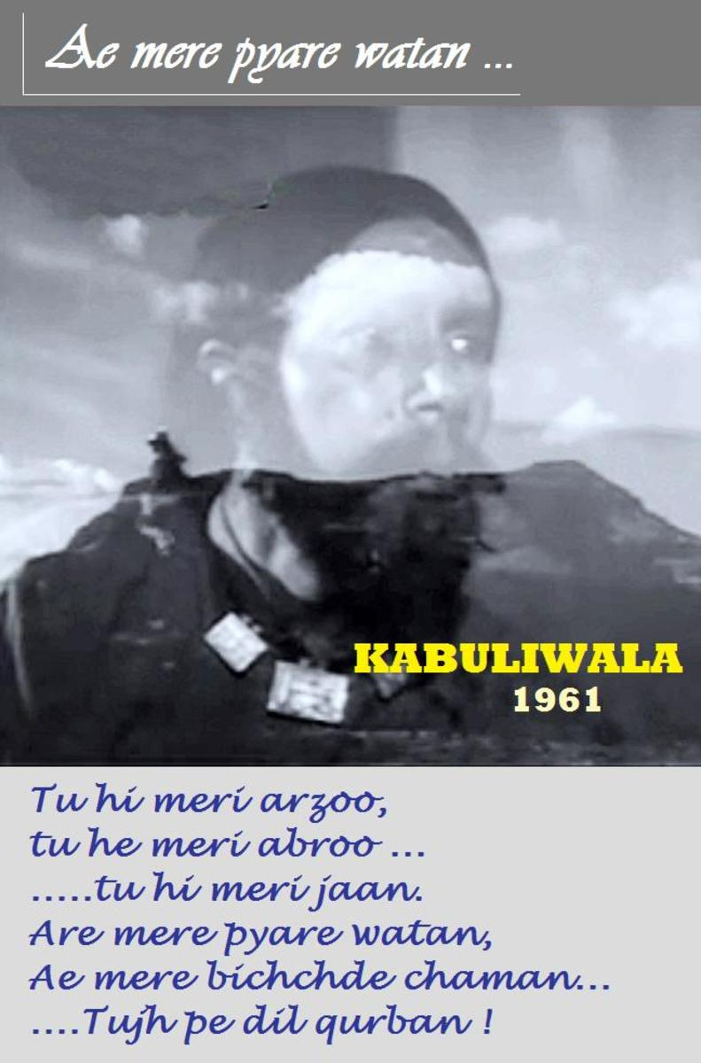The best ever Bollywood expression of love for the motherland, from the movie on an Afghan immigrant : KABULIWALA