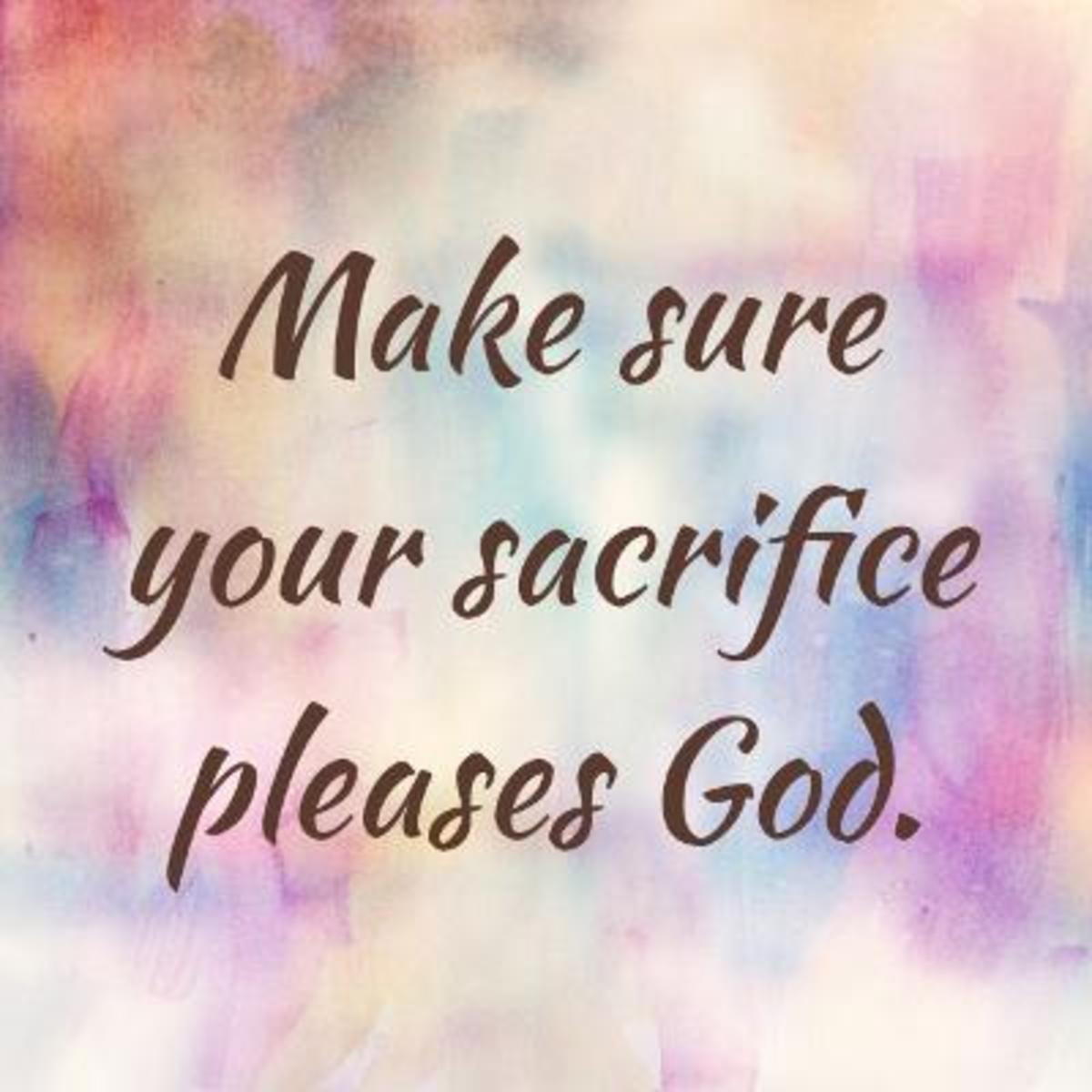 sacrifice-a-bible-word-study