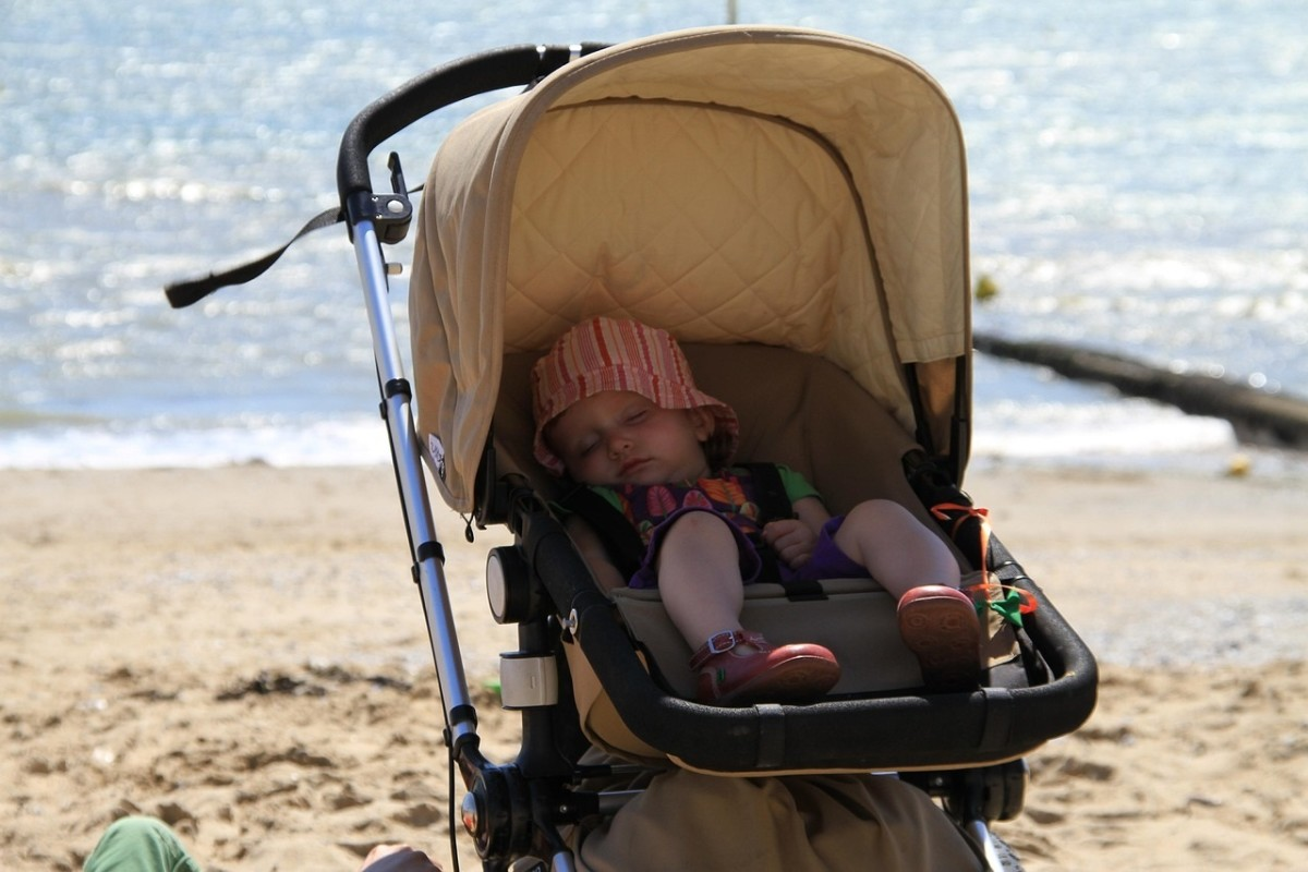 Strollers should have covers to protect your baby from the sun