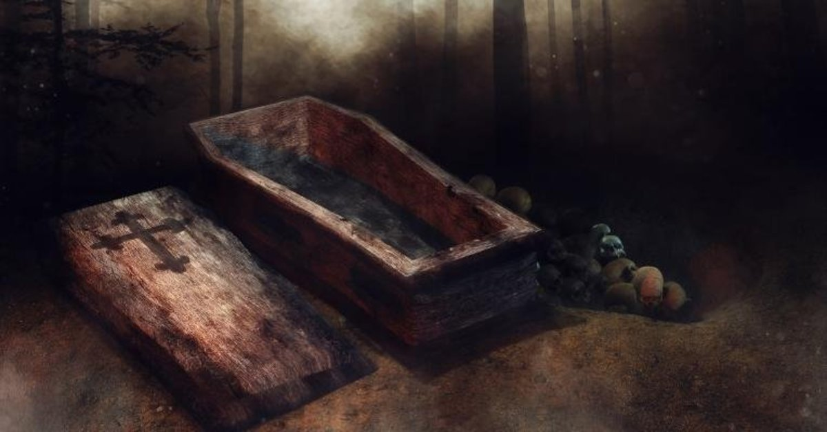 Lenormand Cards-The Coffin