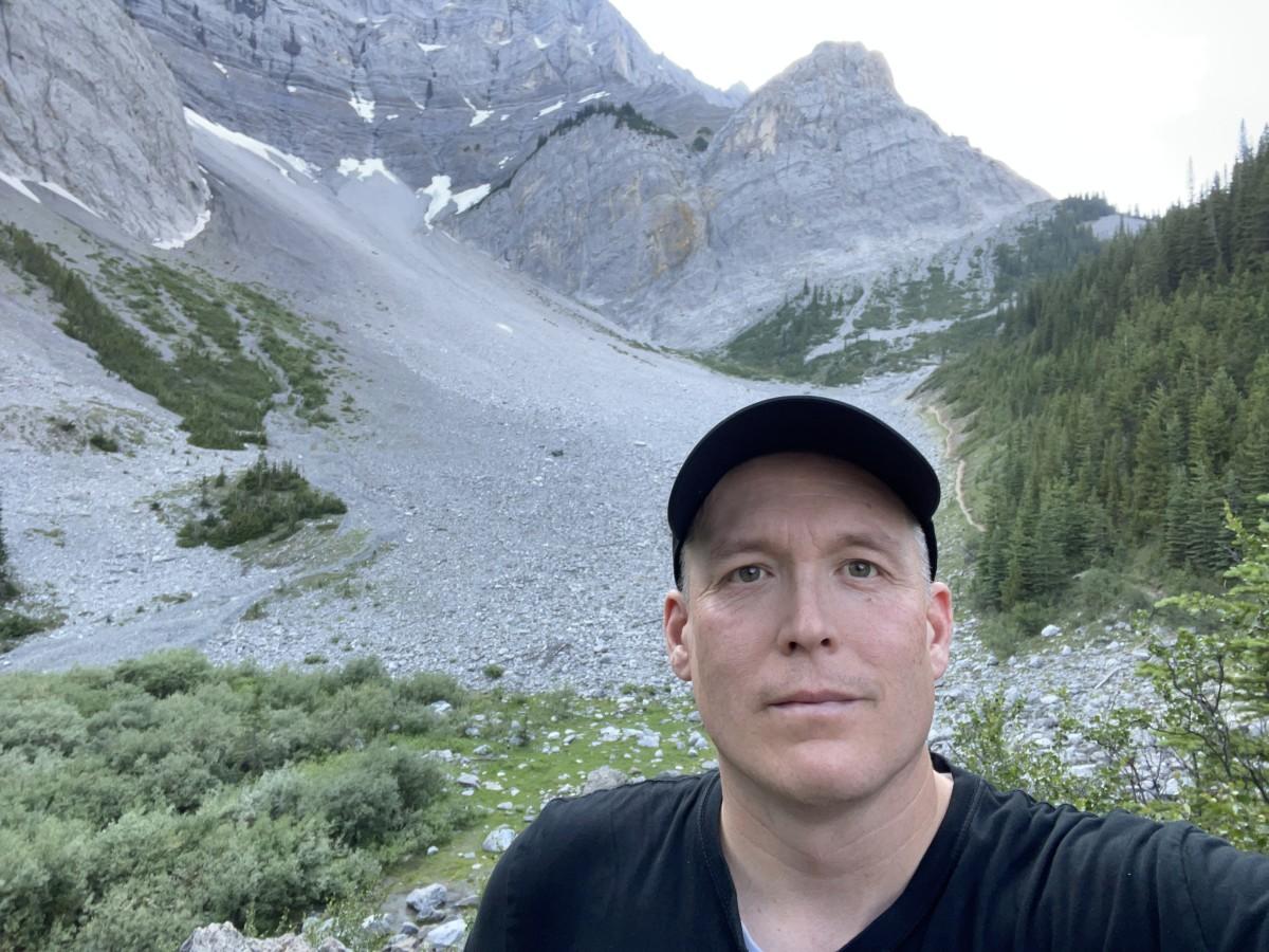 C Level Cirque Trail in Banff National Park