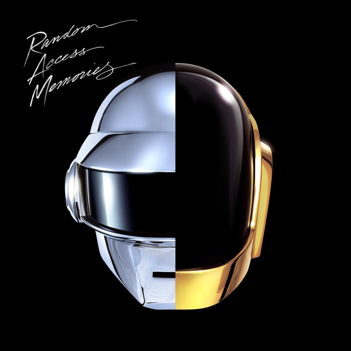The cover of Daft Punk's new album, 'Random Access Memories'