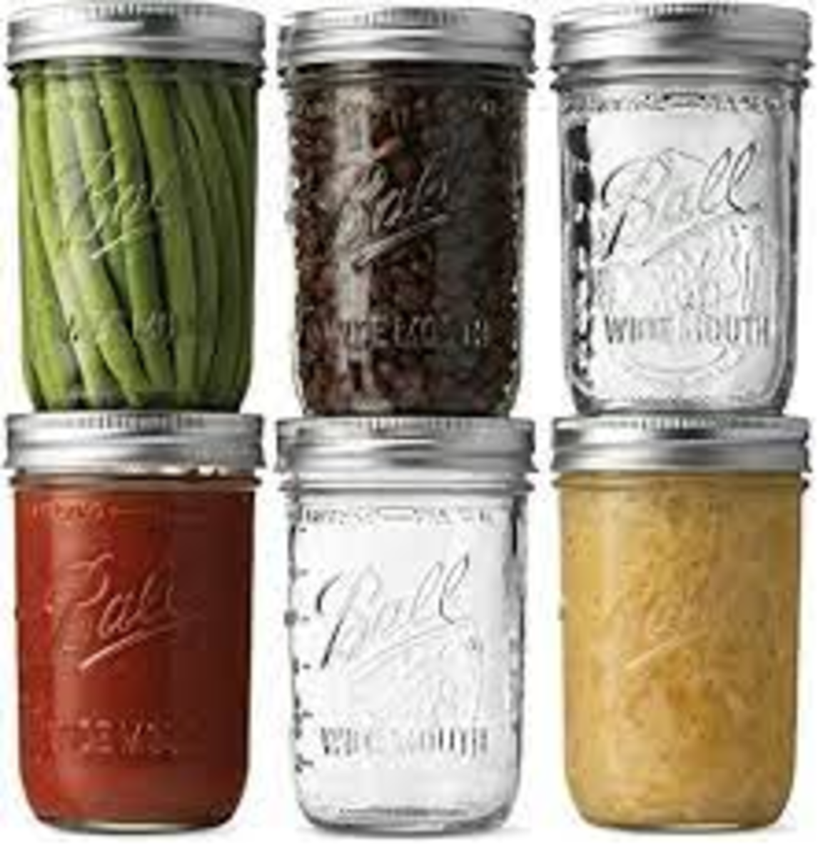 Mason Jars, wide mouth makes everything easier. You will want 16oz jars for infusing, smaller jars may be desired for the finished product.