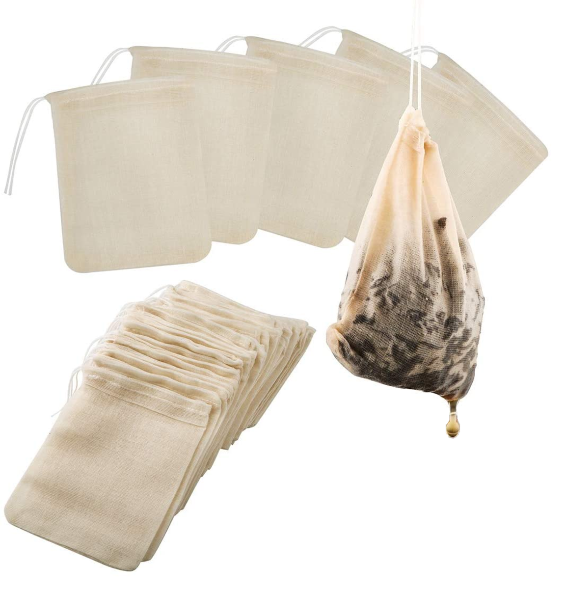 Cloth Teabags or another pouch for easy straining