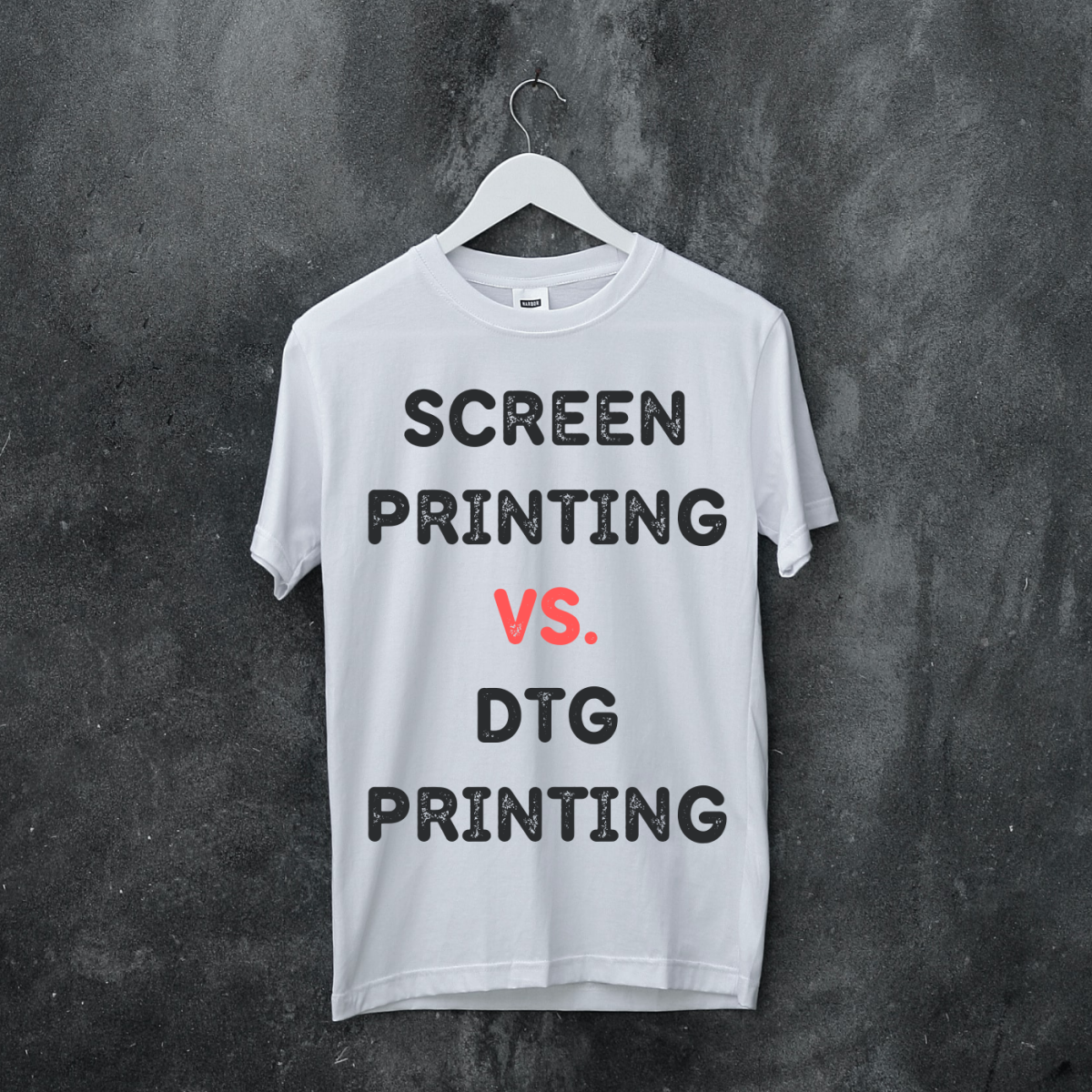Which is better for printing custom t-shirts: screen printing or DTG printing? Well, the answer is: It depends. Learn more about these printing methods here.
