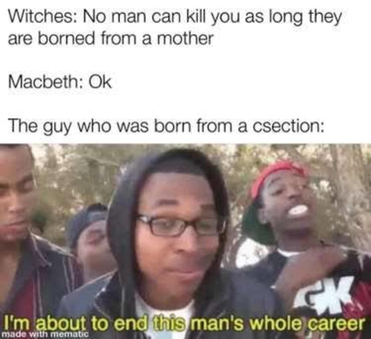 i also love the macbeth memes