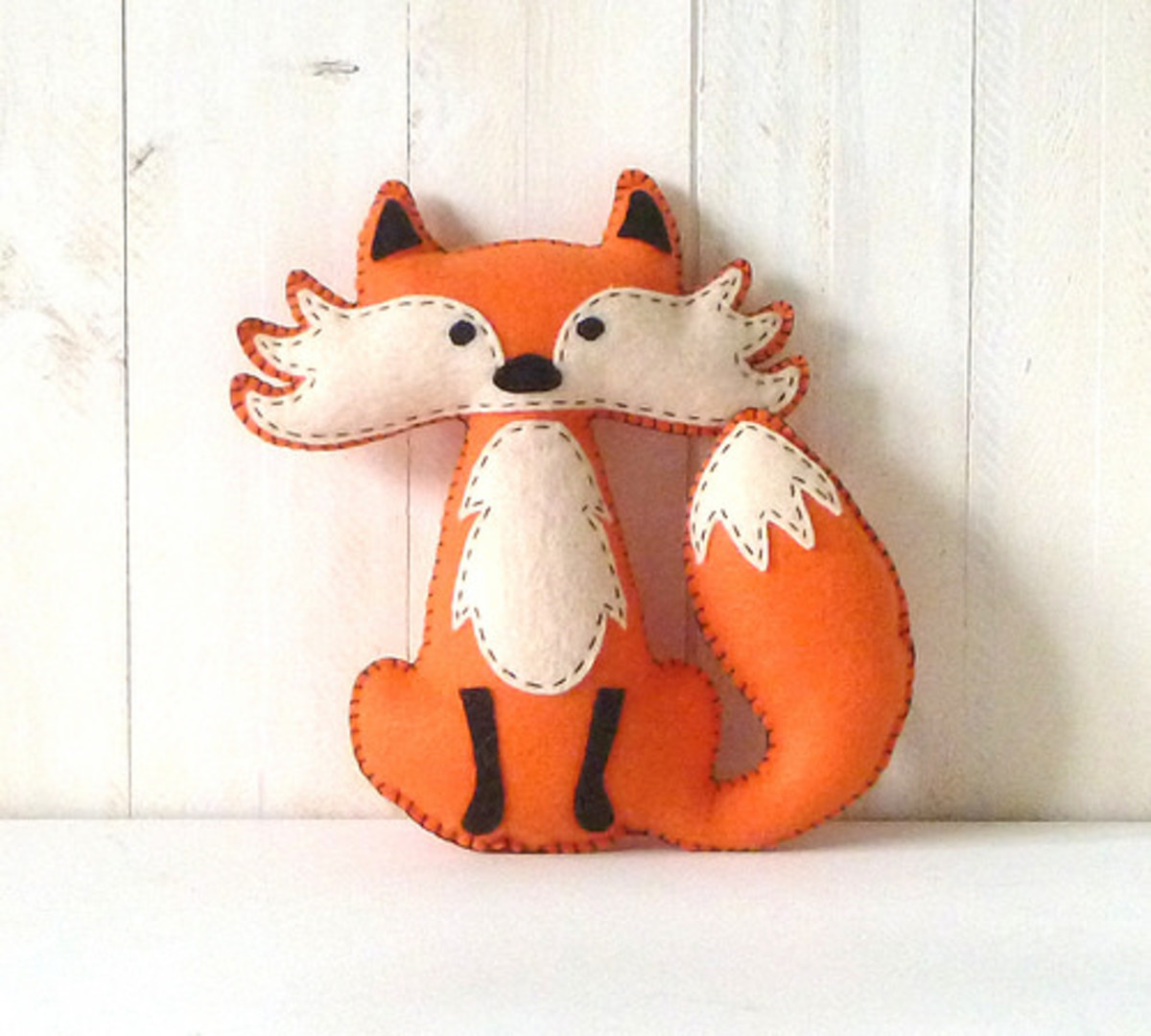 Not my fox. This one is finished infinitely better than mine was.