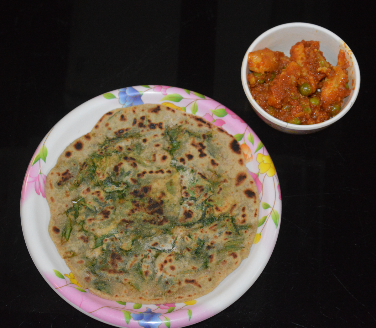 Remove and place it on a serving plate. Similarly, cook the remaining parathas. Serve them hot with a curry or tomato sauce. Enjoy eating them for breakfast or dinner!