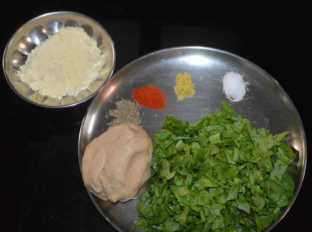 Step one: Prepare the dough as per instructions.