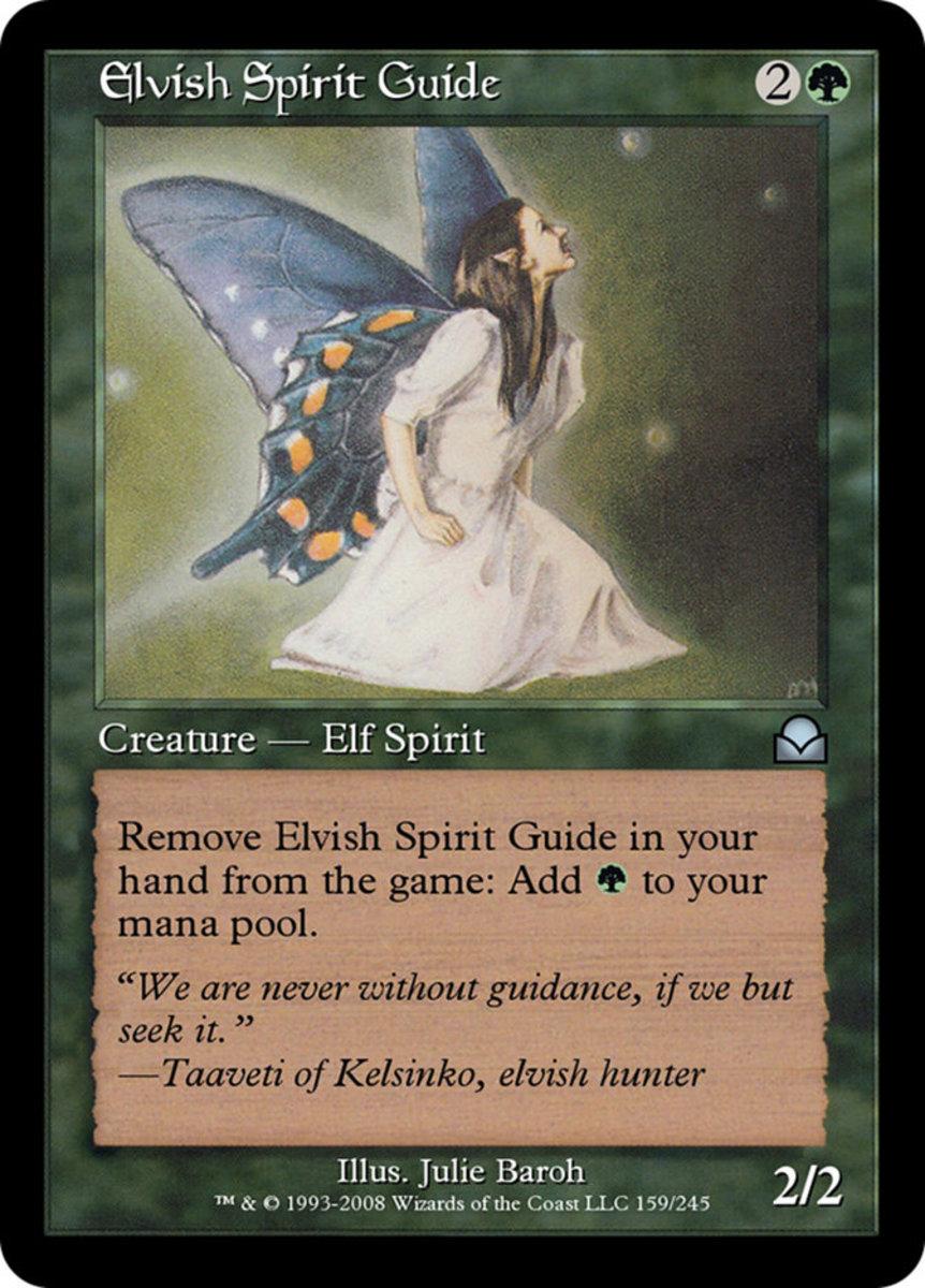 Elvish Spirit Guide mtg