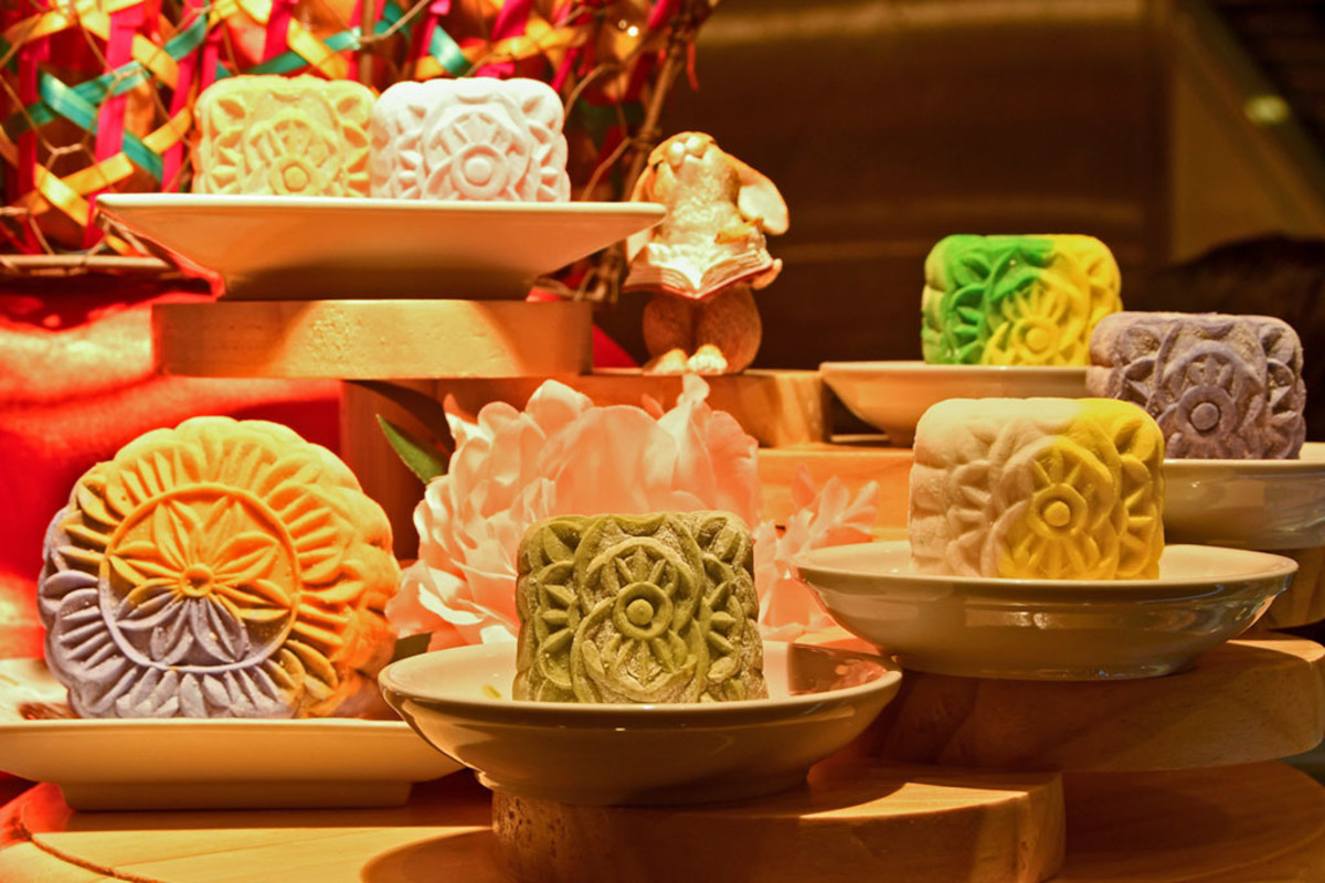 Modern and colorful as today's mooncakes are, these pastries have been eaten in China for centuries.