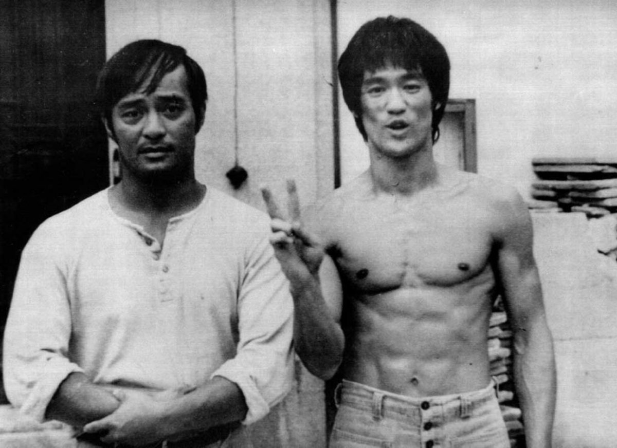Courtesy of sgvjeetkunedo.com. Dan Inosanto (L) is one of the students that Bruce taught. He went on to teach, and what some a divergent, of JKD.