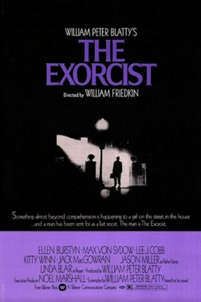 The Exorcist Theatrical Release Poster By Bill Gold.