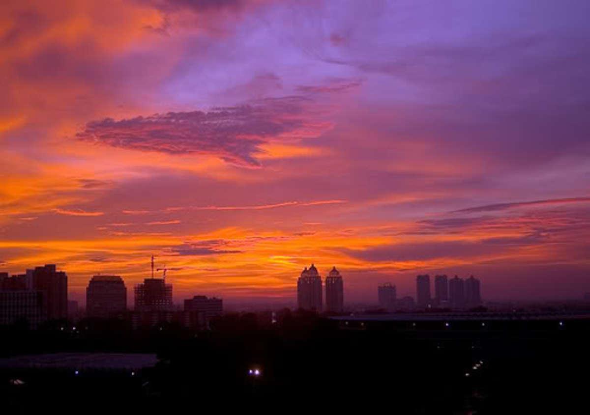 Jakarta By Sunset.