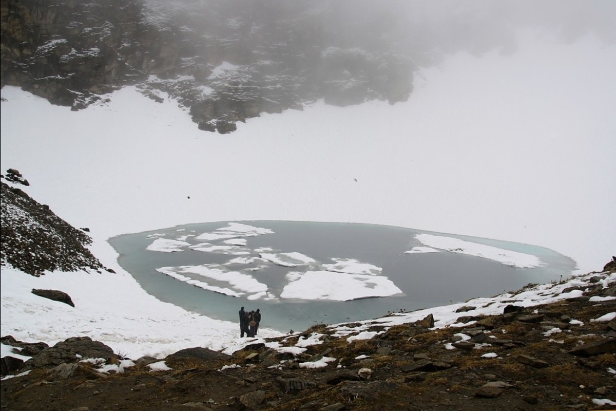 September to October is the perfect time to trek as after that the area becomes inaccessible due to continuous snow.