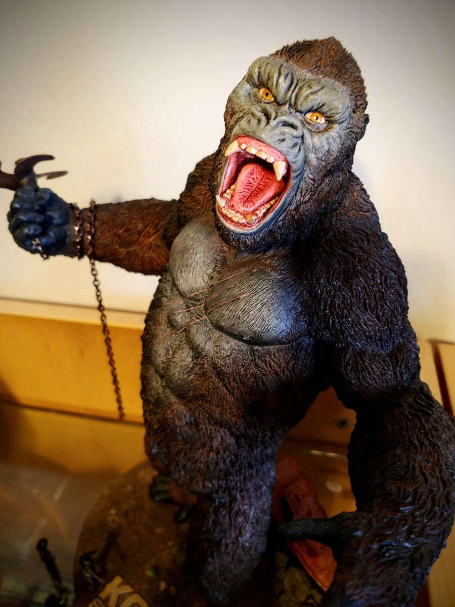 Skull Island Kong 2.0 Deluxe Soft Vinyl Limited Edition Statue by Star Ace