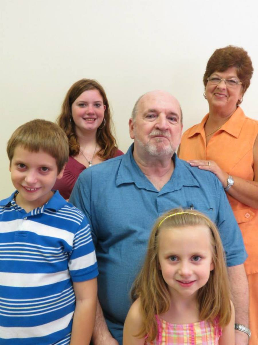 This is my family. (L-R) Gabriel Nash, Annabeth Nash. (second row, l-r) me. Third row, (l-r) Alexis Nash and my lovely wife, Pam.