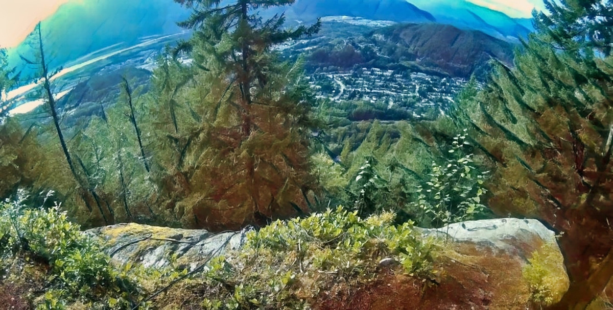 Slhanay Peak Trail in Squamish British Columbia