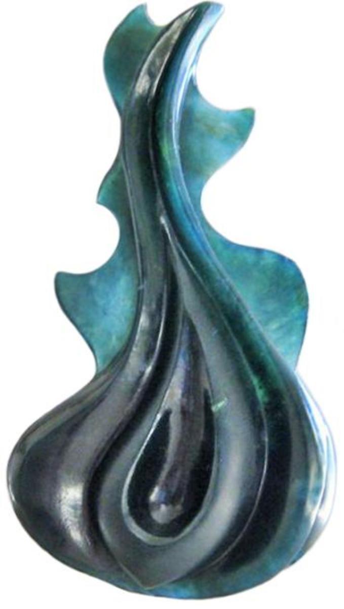 A Beautiful Blue Jade Pendant