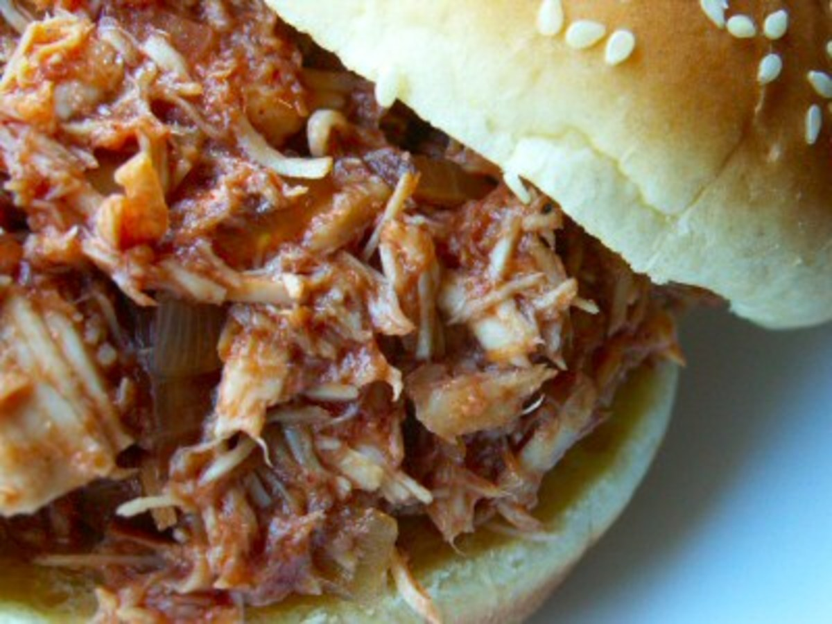 BBQ Turkey Sandwich